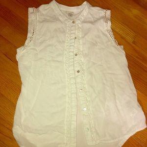 Women's tank top blouse- excellent condition